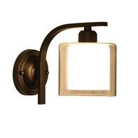 Criativo moderno redondo vidro sombra lâmpada de parede nordic simples vento industrial cabeceira quarto luz da parede luminárias sala estar lâmpada|Luminárias de parede| |  -