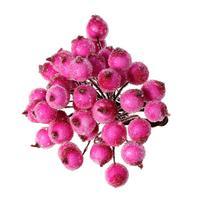 Foam Artificial Flower Stamen Millinery Fuchsia 14 5cm 5 6 8 X 1 2cm 4 8