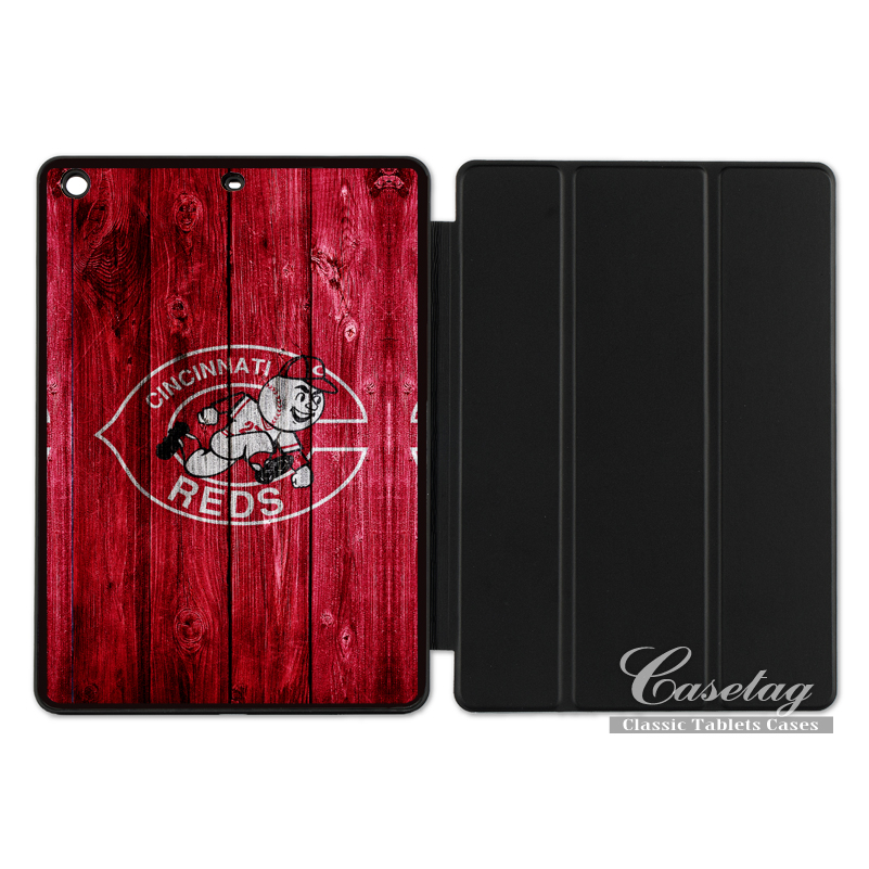 Cincinnati Reds Sport Baseball Red Cover Case For Apple iPad 2 3 4 Mini Air 1 Pro 9.7 10.5 12.9 New 2017 a1822