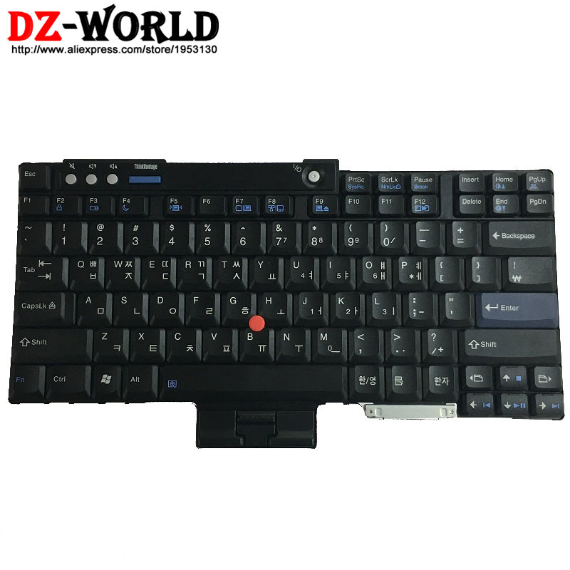 Kr New Original For Thinkpad T60 T60p T61 T61p T400 T500 W500 Korean Keyboard 42t3239 42t3303 42t3173 42t4032 42t4096 42t3967 Delaying Senility Replacement Keyboards