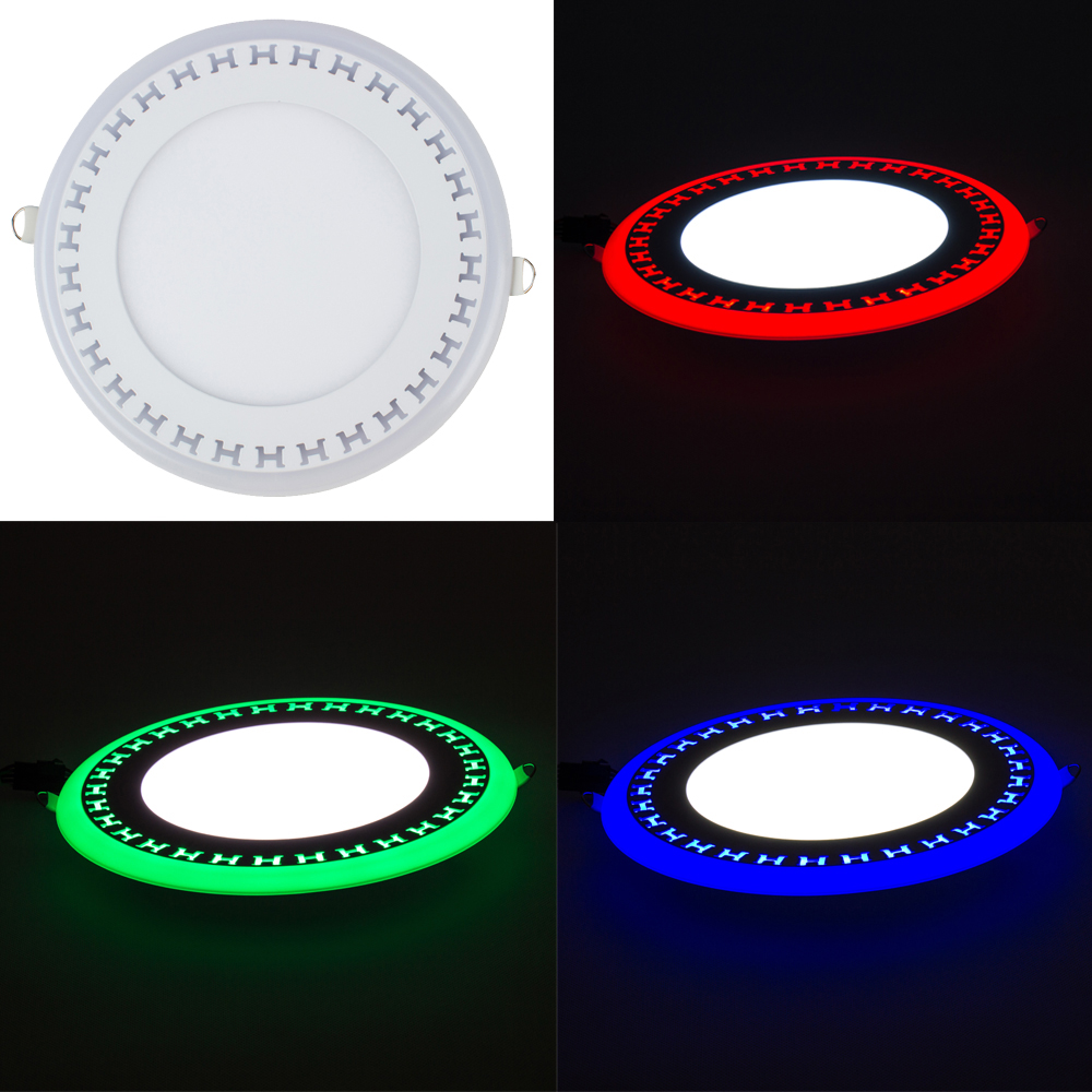 High quality with cheap price led panel light 36w 600x600 ac85 265v - T Sunrise New Ultra Thin Led Down Light Lamp 3w 6w 12w 18w Dual Color