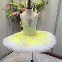 Stunning Design Professional Ballet Tutu Women Girl Stage Performance Classical Ballet Tutu Ballerina Pancake Tutu