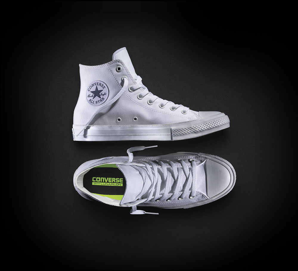 3666359c4fd2 ... NEW Converse Chuck Taylor All Star II High men women s sneakers canvas  shoes Classic pure color ...