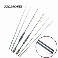 2 tips 100% Carbon Lure Fishing Rod Spinning Casting Rod Travel Fish Pole Peche Pesca Olta Carp Feeder Fit For Shimano Reel D41