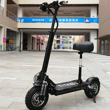 цена на Off Road Electric scooter 2 Wheels Electric Scooter Double Drive 11 Inch 1000W 48V Foldable Electric Kick Scooter Adults