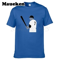 Men Mickey Mantle 7 T Shirt Clothes T Shirt Men S Tshirt For New York Fans