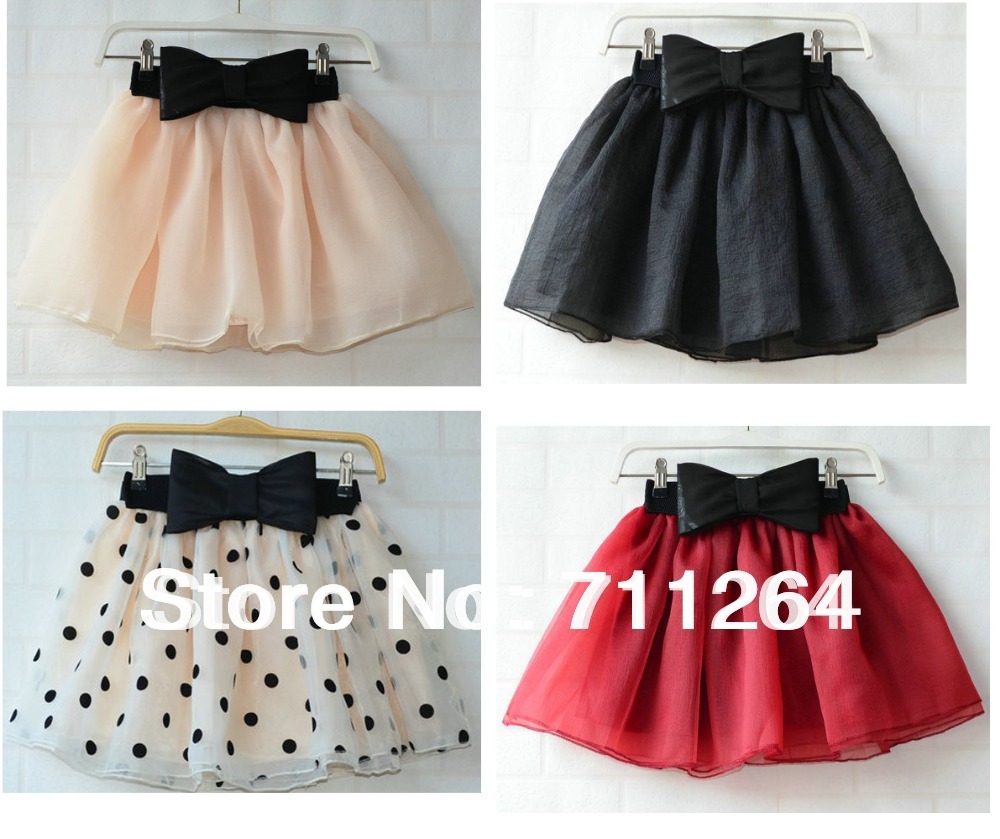 Women Mini Tutu Bubble Short Mini Skirt Skater Party Plain -4997