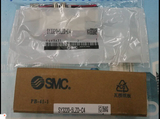 BRAND NEW JAPAN SMC GENUINE VALVE SY3320-5LZD-C4 brand new japan smc genuine valve sy313 5lzd c4