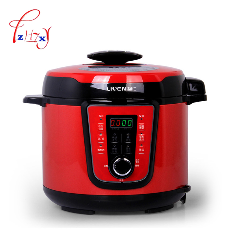 DNG-5000D Household Full automatic Electric pressure cookers 5L 900W rice cooker pressure Rice cooker 220V 1pc household electric rice mill fresh rice machine automatic husker rice milling machine small rice mill 160w 220v 1pc