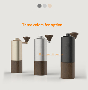 Image 5 - 1 PC Timemore G1 MYY47 Aerolite portable steel grinding core High quality handle design super manual coffee mill Dulex bearing