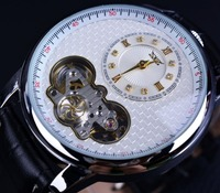 Jaragar Classic Dual Movement Design Automatic Quartz Watches Men Wristwatch Erkek Kol Saati Men Business Watch Luxury Watch Men