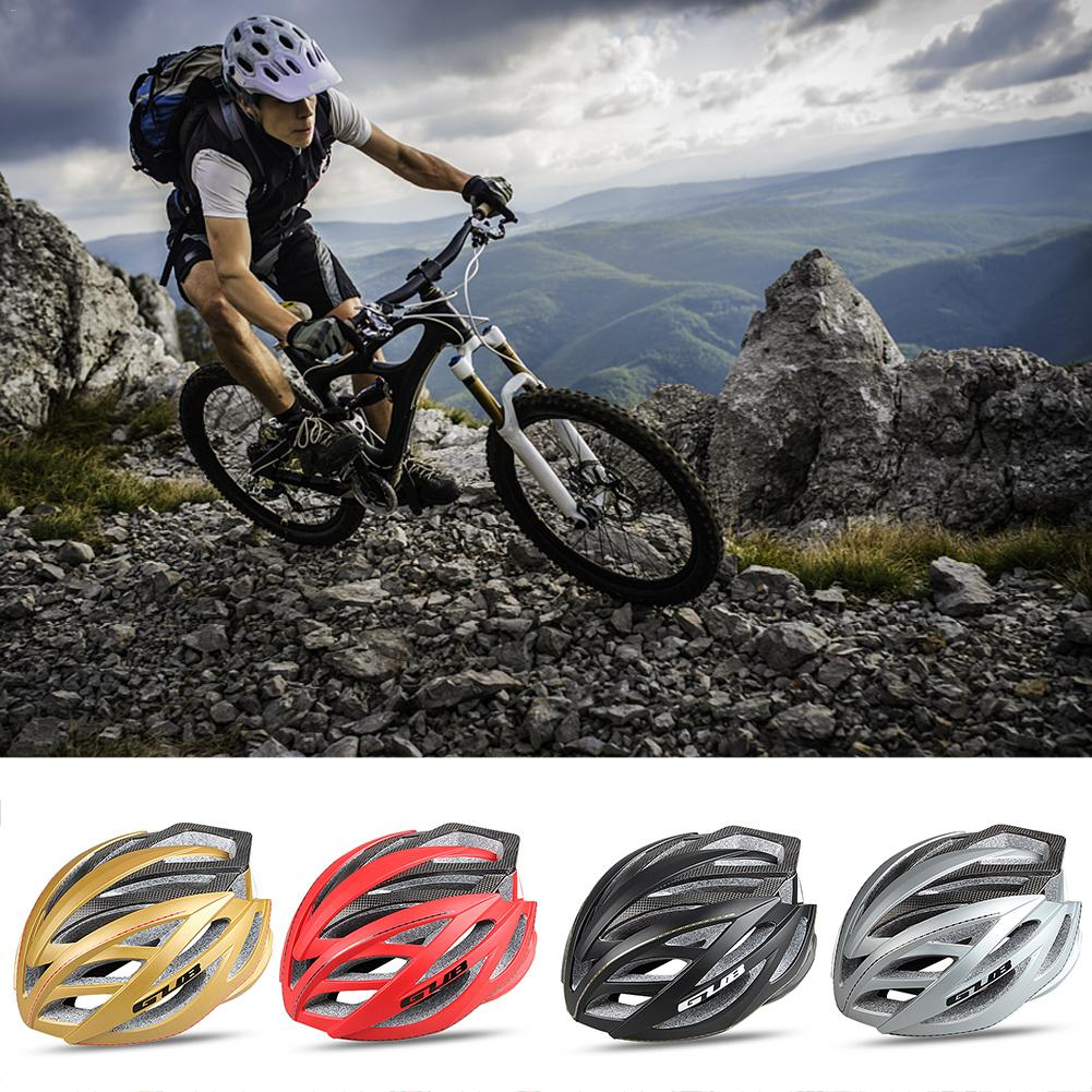 Unisex Fashion Integrated Mountain Bike Road Bike Riding Helmet Carbon Fiber Riding Helmet Cycling Equipment For Men And Women promend mountain bike riding helmet integrated safety hat road cycling equipment for men and women