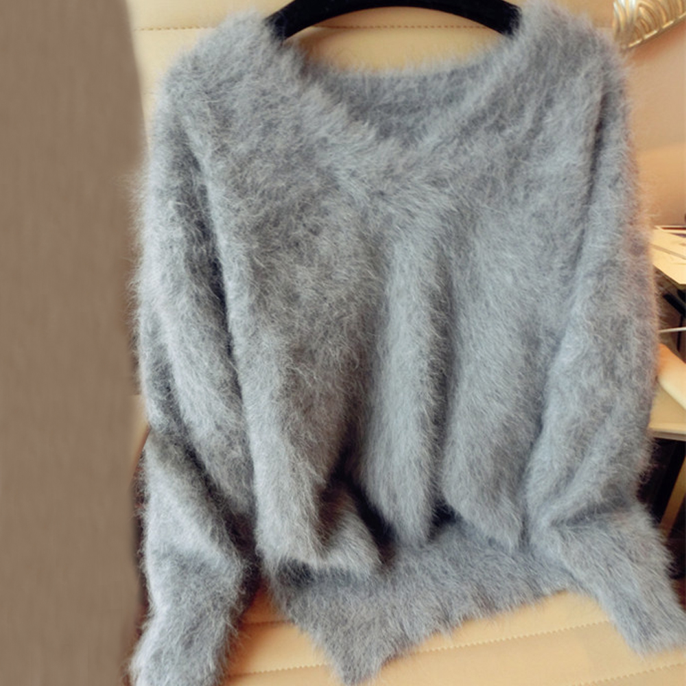 Genuína de vison casaco de vison pura caxemira camisola de caxemira das mulheres Personalizado tamanho e cor frete grátis v neck sweater wsr296