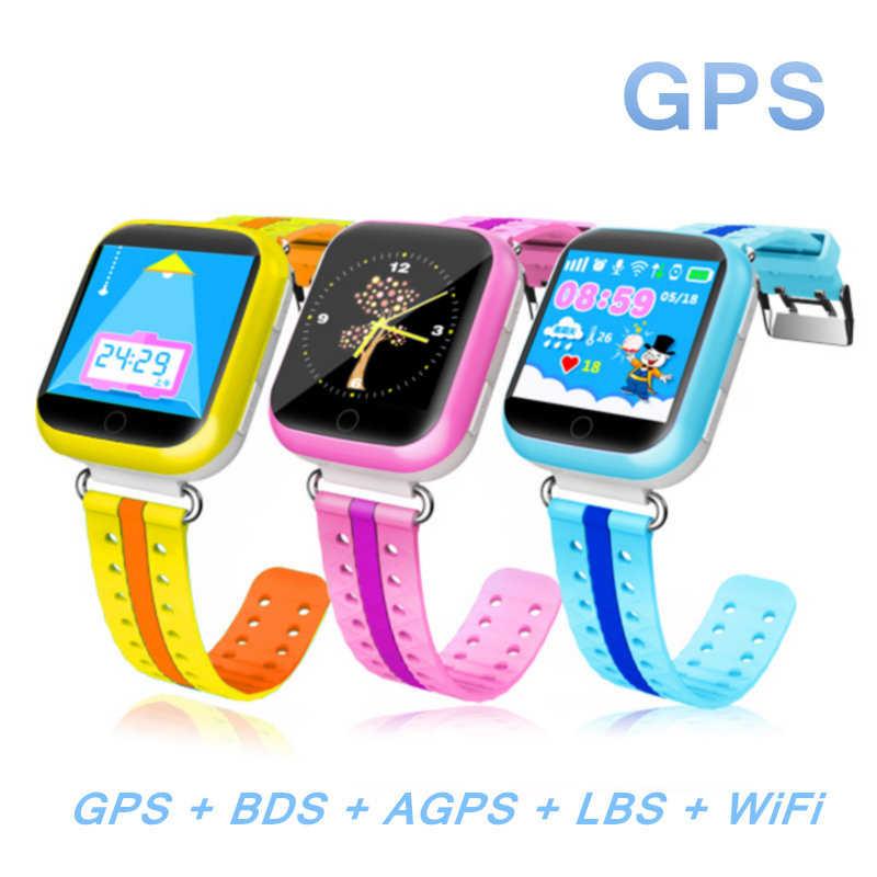 MOCRUX GPS menonton Pintar Q750 Q100 gw200s Bayi menonton dengan Wifi SOS Panggilan Perangkat Lokasi Tracker untuk Anak Yang Aman PK Q50 Q60 Q80