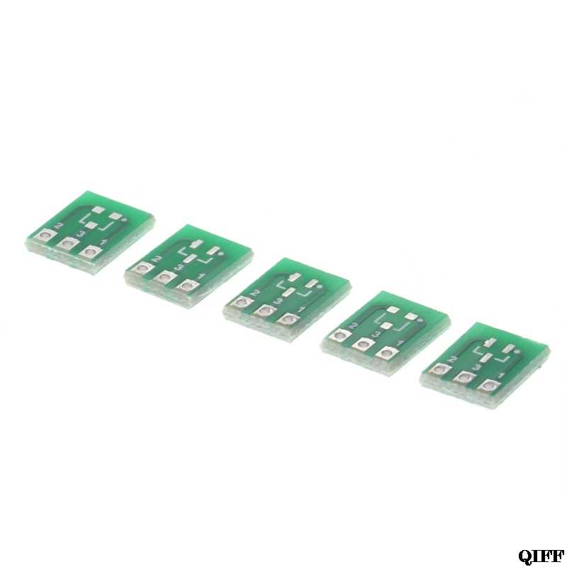Drop Ship & Wholesale 10 sztuk dwustronnie SMD SOT23-3 do DIP SIP3 Adapter płytka drukowana DIY konwerter APR28