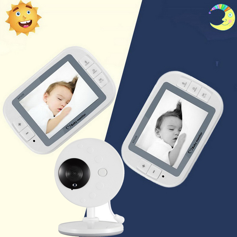 Hoomall Wireless Video Baby Monitor 3 5inch LCD Sreen Baby Sleep Monitor Baby Care Nanny Security