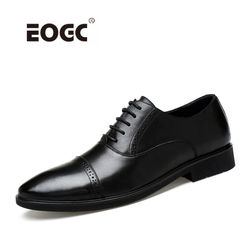 Handmade Men Dress Shoes Formal Wedding Genuine Leather Shoes Retro Brogue Business Office Men's Flats Oxfords For Men men luxury crocodile style genuine leather shoes casual business office wedding dress point toe handmade brogue footwear oxfords page 4 page 5 page 4 page 4
