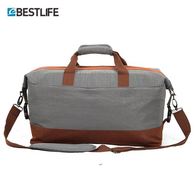 Bestlife Mens Duffle Bag Large Waterproof Travel Weekend Men Business Portable Luggage