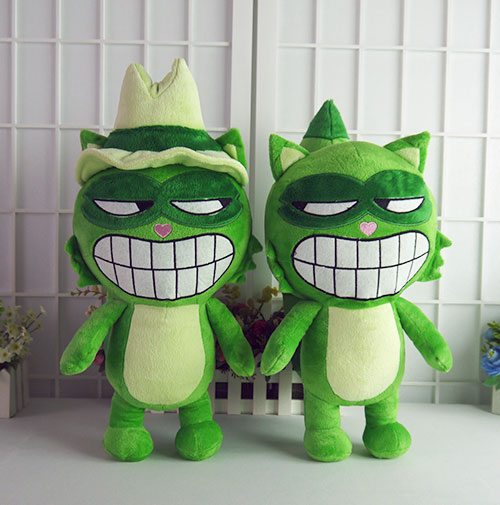 Happy Tree Friends anime plush dolls HTF Lifty Shifty cute plush toys 38 48cm soft pillow