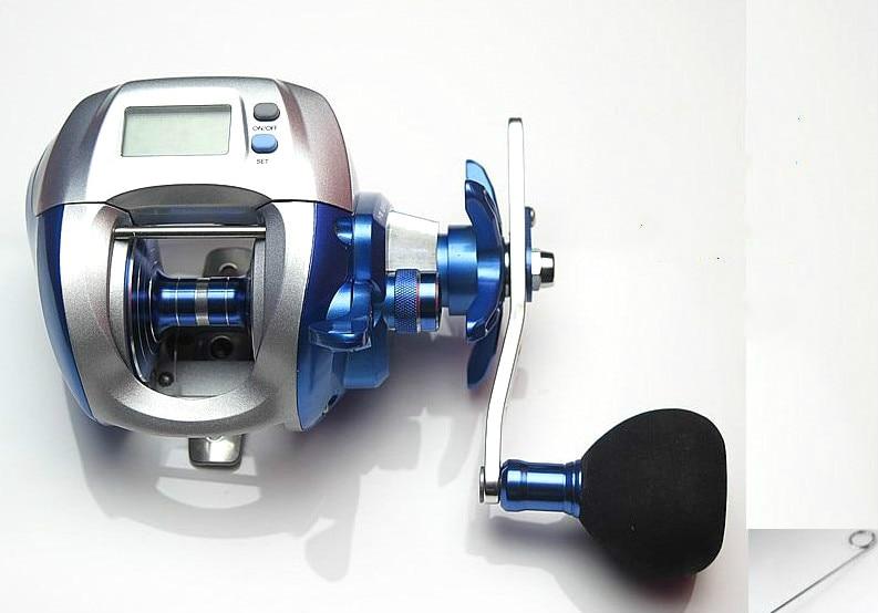 upgrade sea king ECOODA OFB 3000 digital boat fishing wheel reel drop round bait casting reel