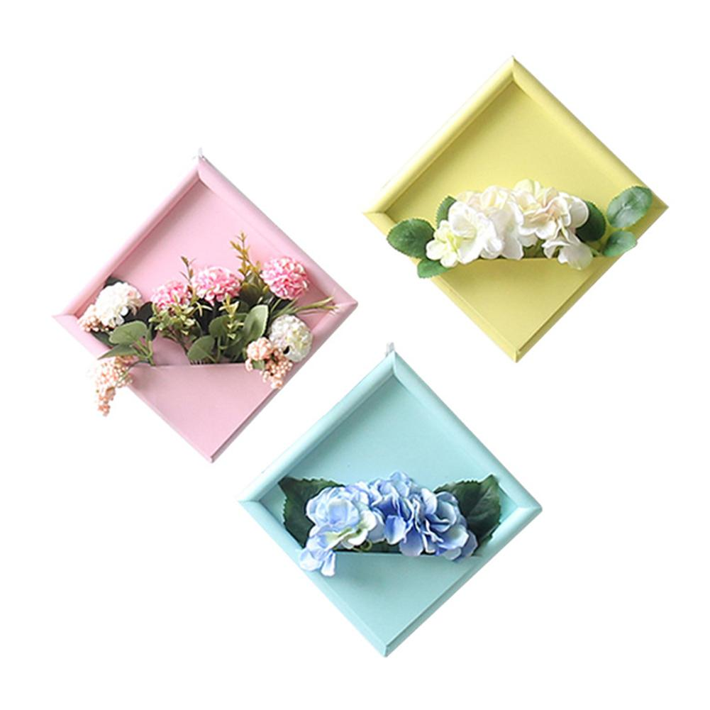Wall Decoration Flower Holder Vintage Wooden Artificial ... on Decorative Wall Sconces For Flowers Hanging Baskets Delivery id=78002