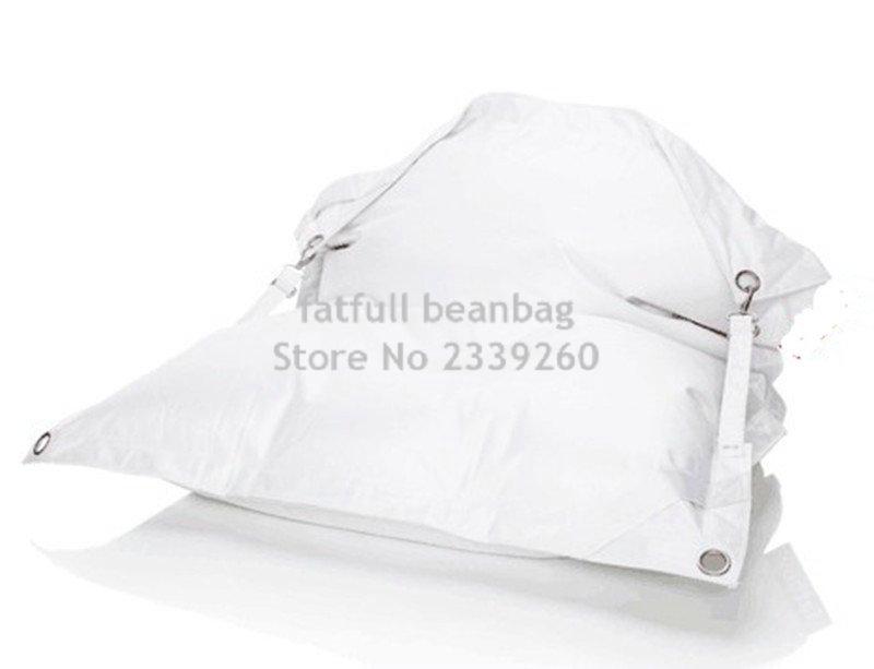 cubierta slo sin hebilla silla del bolso de haba al aire libre