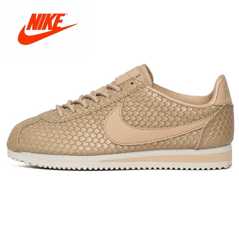 Original New Arrival Authentic Nike Classic Cortez SE Women's Retro Skateboarding Shoes Sport Outdoor Comfortable 902856-900