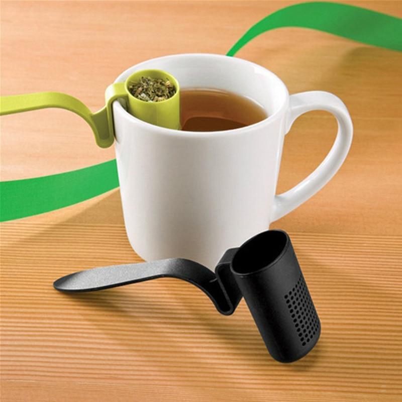 1Pcs Tea Strainer Herbal Spices Leaf Infuser Tea Infuser Colander Teaspoon Spice Filter Tea Tools