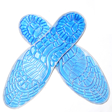 Gel Silicone Sport Arch Support Men Women Massage Shock Absorption Military Training Running Basketball Football Insoles