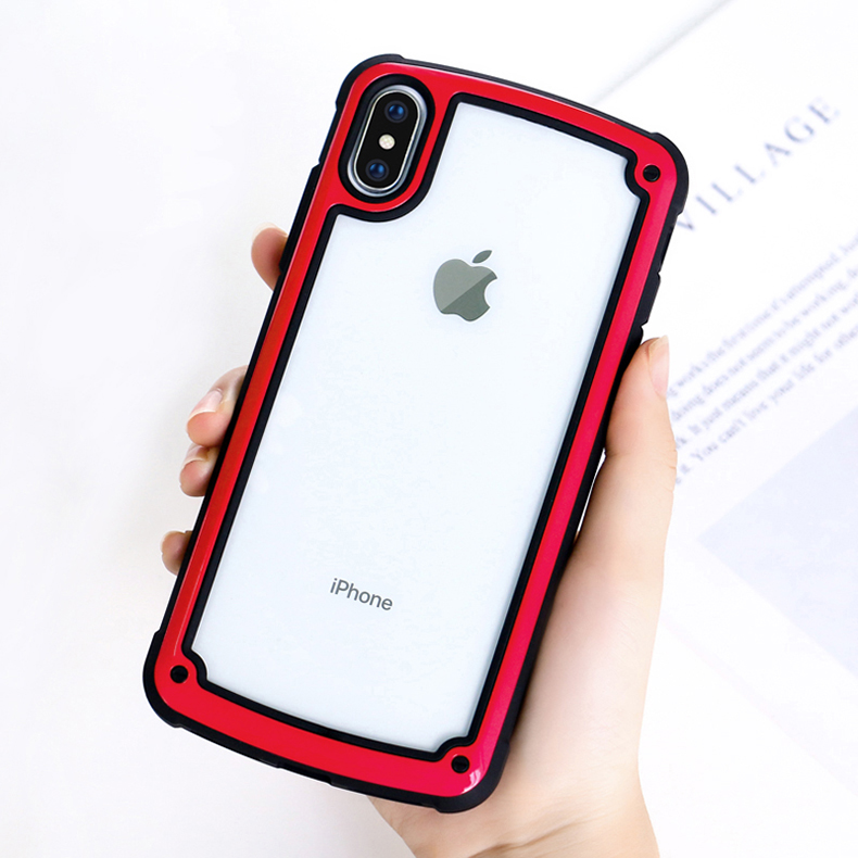 LUPHIE Luxury Transparent Case For iPhone X XS Max XR 8 7 Plus (14)