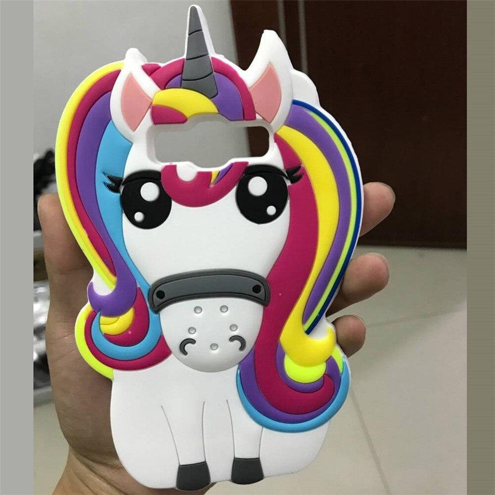 Untuk Samsung Galaxy J2 Prime Lucu 3d Kartun Unicorn Lembut Silicone Softcase Silicon Mungil Kasus Di Grand G532f Kulit Penutup Dilengkapi