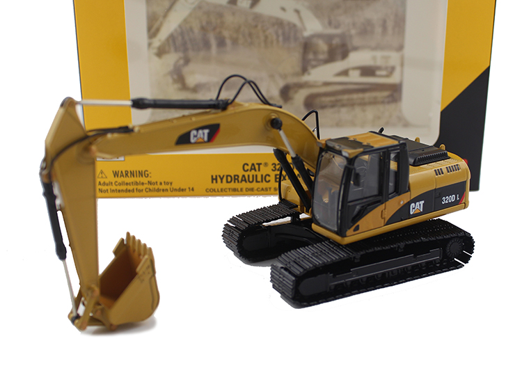 ФОТО CAT 1:50 320D L Hydraulic alloy crawler excavator model Model of fine engineering vehicle 55214 Collection model Holiday gifts