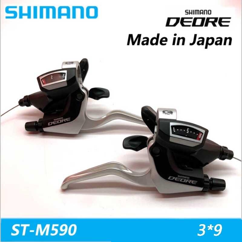 SHIMANO Deore VTT VTT manette de vitesse ST-M590 3*9 27 vitesse vélo pièces interrupteur dérailleur boîte Siamois DIP LIVRAISON gratuite