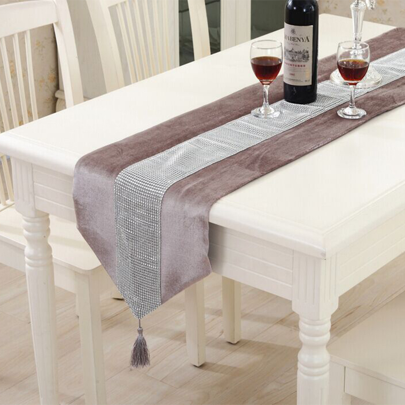 buy modern table runner flannel diamond table marriage runners chirstmas. Black Bedroom Furniture Sets. Home Design Ideas