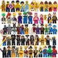 Lecgos 30 pçs/lote Super heroes/Odin/Batman/Veneno/Cyclops figuras Blocos de Construção Vingadores Legoes Compatível
