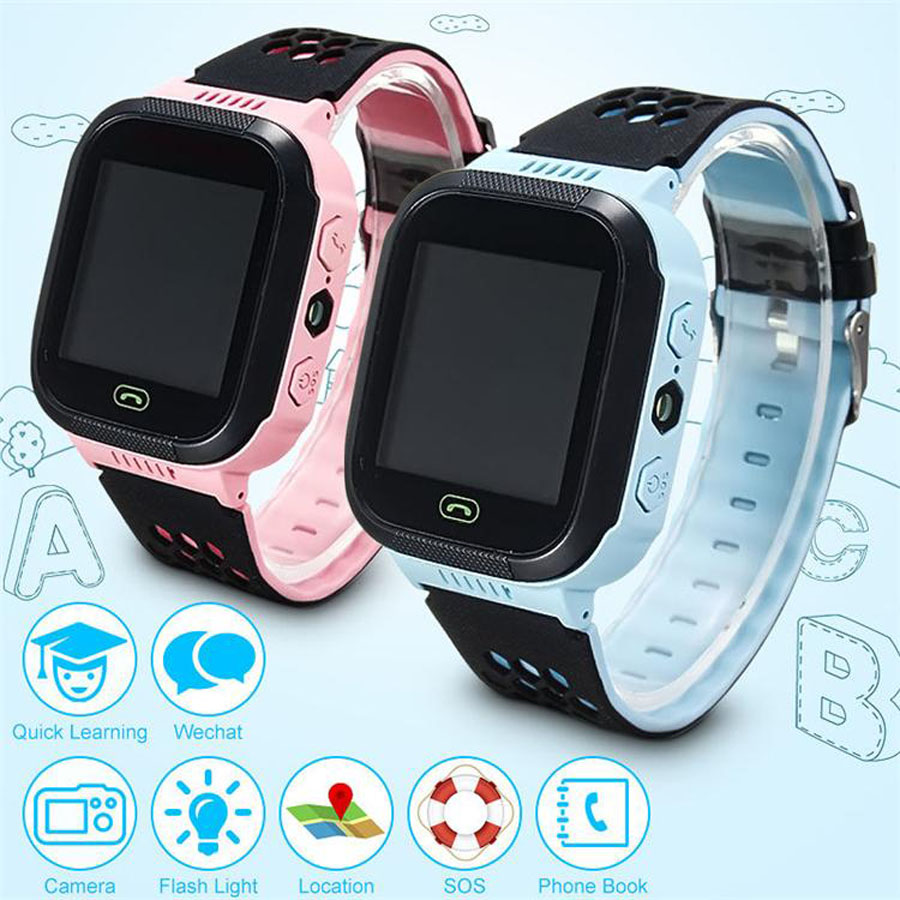 Fuloophi Q528 Kids Watch Touch Screen LBS Tracker Smart Baby Chlidren Watch With Camera For Apple