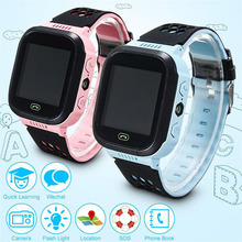 Ограниченное предложение Fuloophi Q528 Kids Watch Touch Screen LBS Tracker Smart Baby Chlidren Watch With Camera For Apple IOS Android Phone Smartwatches