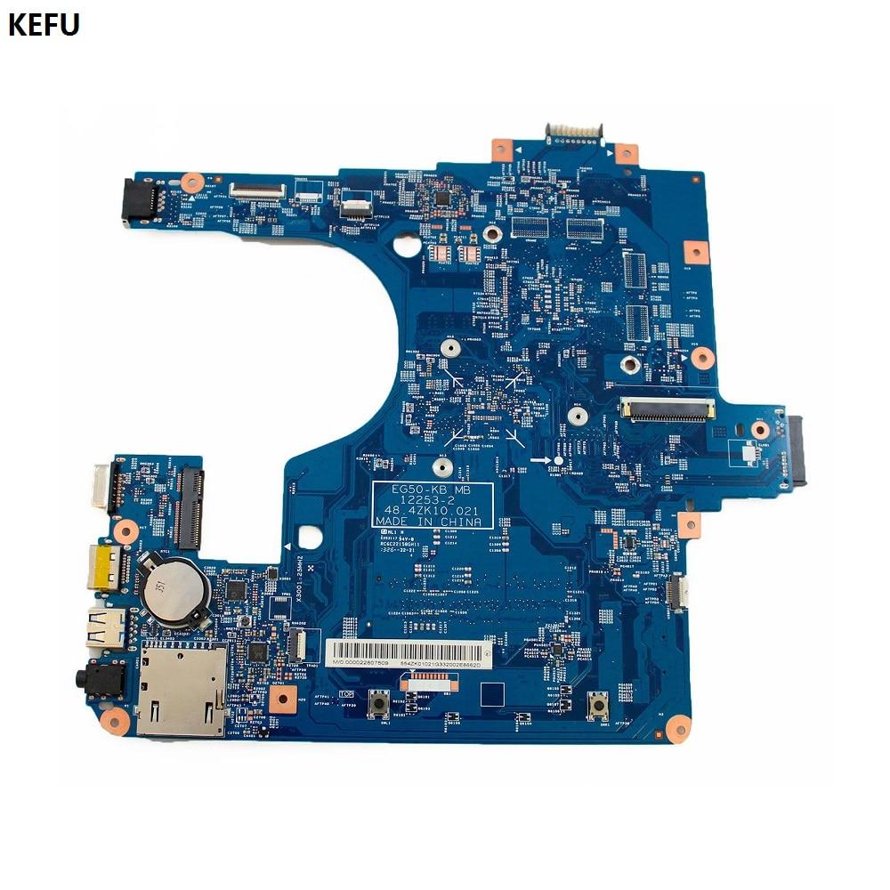 KEFU FOR Acer Aspire E1 522 Laptop Motherboard NBM811100E NB M8111 00E 48 4ZK10 021 12253