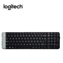 Оригинальная Беспроводная стандартная клавиатура logitech Classic настольного компьютера K230 USB