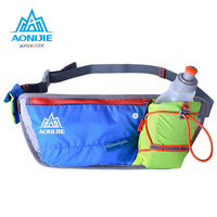 AONIJIE Lightweight Unisex Running Waist Pack Outdoor Sports Gym Fitness Hydration Belt Water Bottle With 1