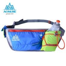 AONIJIE de Course Taille Pack Sac Hommes Femmes Léger Marathon Hydratation  L eau Ceinture Porte 7ba3aa27dde