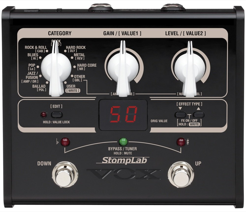 Vox StompLab IG Modeling Guitar Effect Processor автомагнитола videovox vox 100