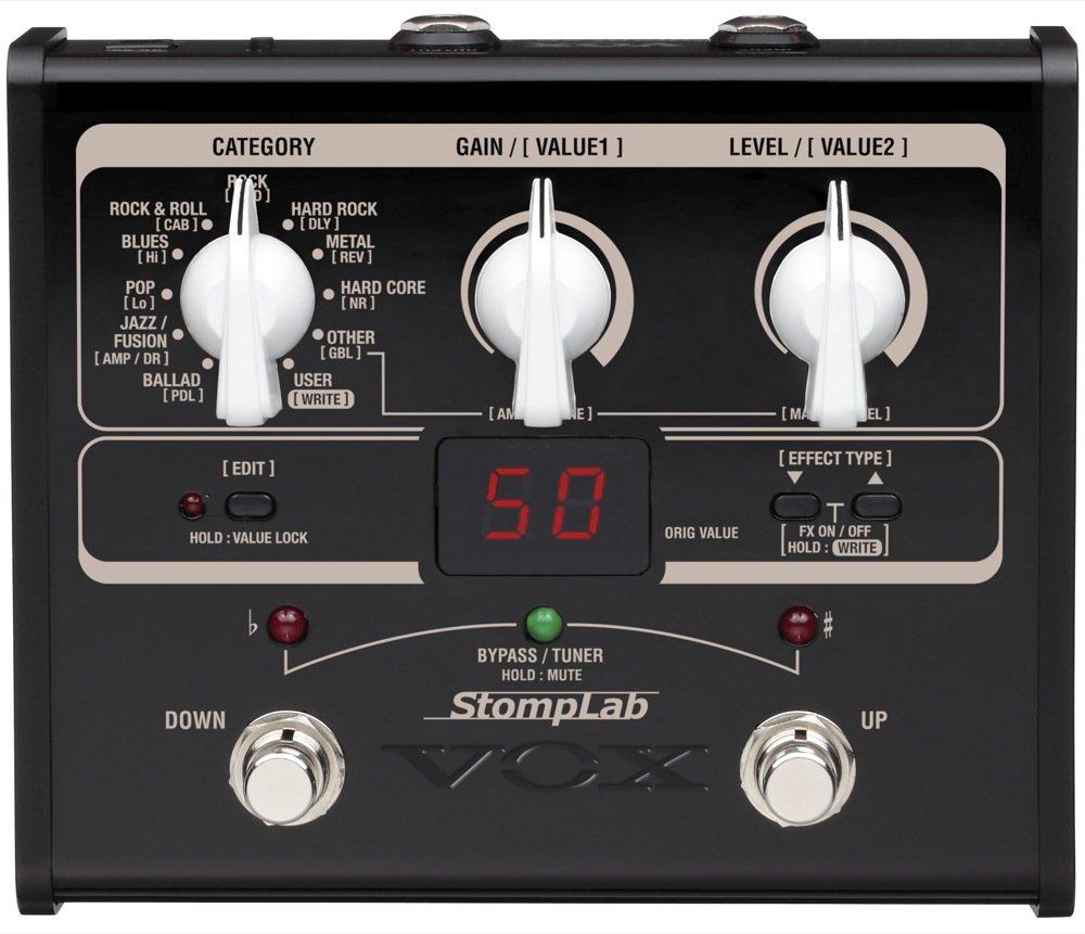 Vox StompLab IG Modellazione Chitarra Effetti ProcessoreVox StompLab IG Modellazione Chitarra Effetti Processore