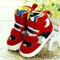 2016 Caliente Del Bebé Muchachas de La Princesa Flor Knittng Ganchillo Zapatos del Pesebre Infant Toddler Prewalker
