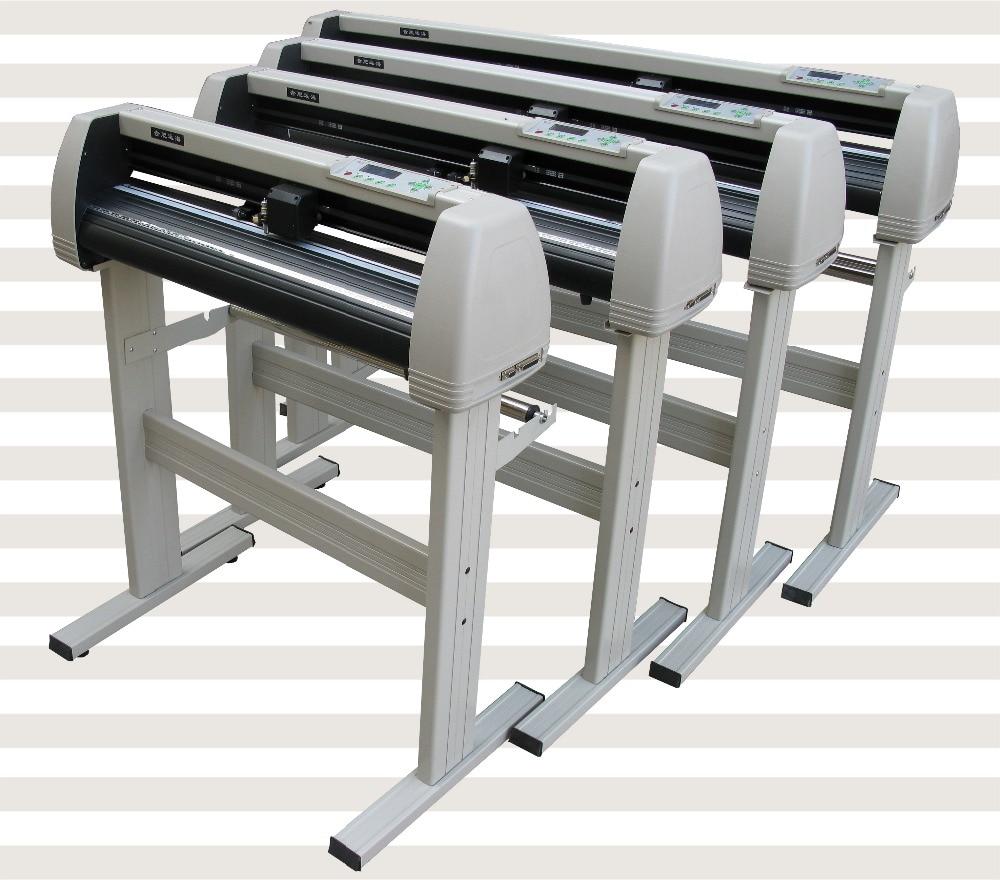 24 vinyl cutter with exact contour cut output from Coreldraw digital cutter cutting plotter vinyl cutter