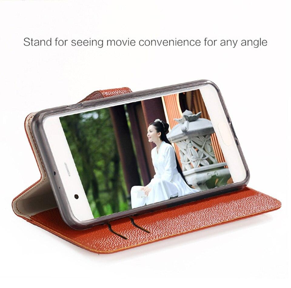Pequeno em relevo padrão slot para cartão caso do telefone móvel para huawei p20 lite hand made personalizado caixa do telefone de Couro genuíno luxo - 5