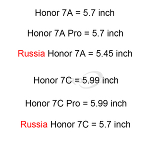 Image 2 - 2PCS 9H 2.5D 0.26MM Tempered Glass For Huawei Honor 7A 7C Pro 8X RU Screen Protector Honor 9 9 Lite 8 8 10 Lite Protective Glass
