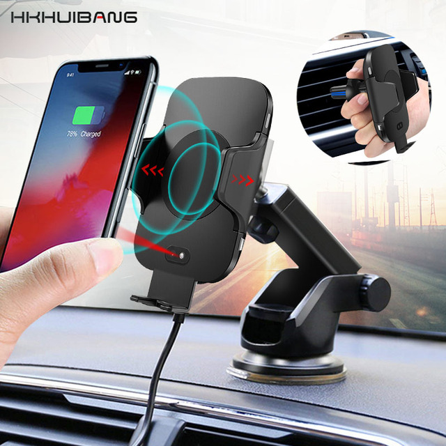Best Car Phone Holder Wireless Charger.
