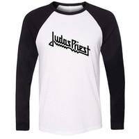 Judas Priest Hard Metal Heavy Rock Band British Design Raglan Long Sleeve T Shirt Men Women