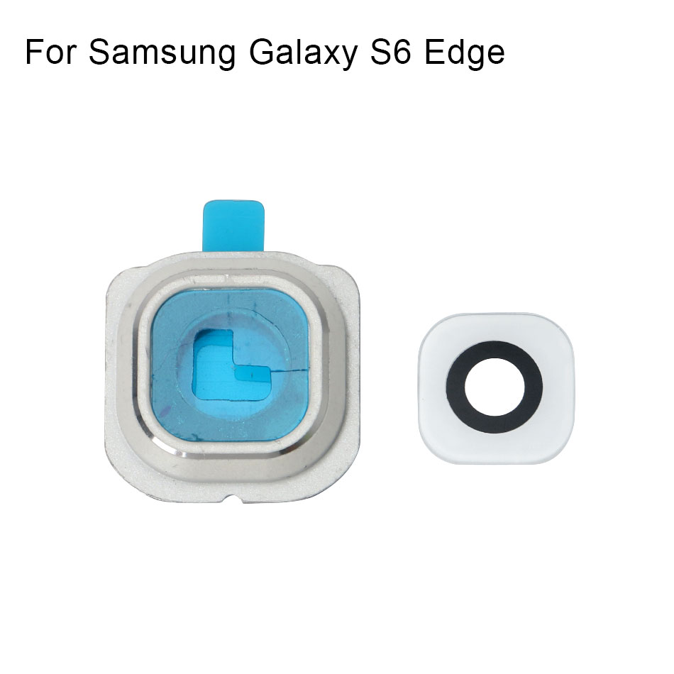 Image 3 - 1set For Samsung Galaxy S6 Edge Rear Back Camera Frame Holder Glass Lens Replacement Parts-in Mobile Phone Flex Cables from Cellphones & Telecommunications